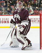 Charlie Finn (Colgate - 1) - The Harvard University Crimson defeated the visiting Colgate University Raiders 7-4 (EN) on Saturday, February 20, 2016, at Bright-Landry Hockey Center in Boston, Massachusetts,