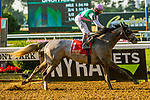 JULY 04, 2020 : Tacitus with John Velazquez aboard, wins the Grade 2 Suburban Stakes, going 1 1/4 mile, at Belmont Park, Elmont, NY.  Sue Kawczynski/Eclipse Sportswire/CSM