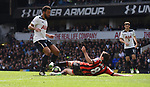 Mousa Dembele-Tottenham & Harry Arter-Bournemouth during the English Premier League match at the White Hart Lane Stadium, London. Picture date: April 15th, 2017.Pic credit should read: Chris Dean/Sportimage