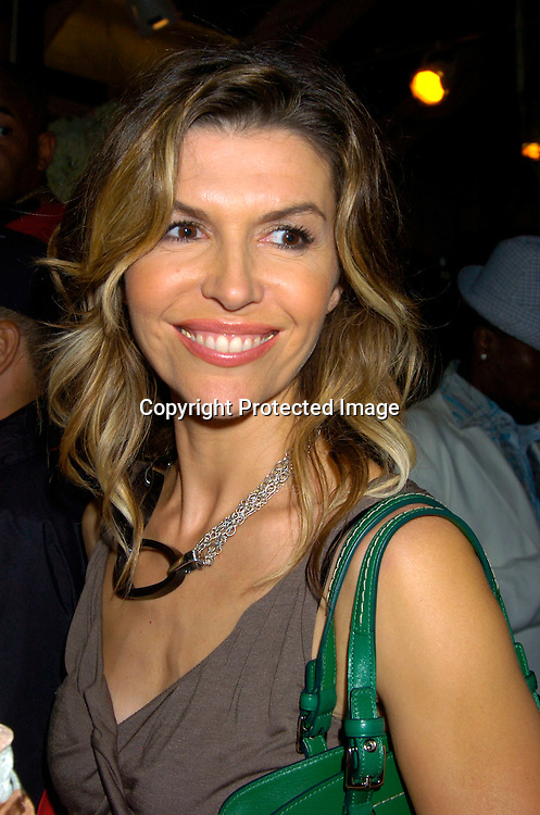 Finola Hughes..at The opening of the Sean Jean Store on September 9, 2004 in New York City. ..Photo by Robin Platzer, Twin Images