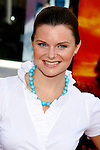 "Actress Heather Tom arrives at the American Premiere of ""The Mummy: Tomb Of The Dragon Emperor at the Gibson Amphitheatre on July 27, 2008 in Universal City, California."
