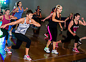 Body Combat :  Les Mills Launch Falkirk Community Trust Circuit Fitness.