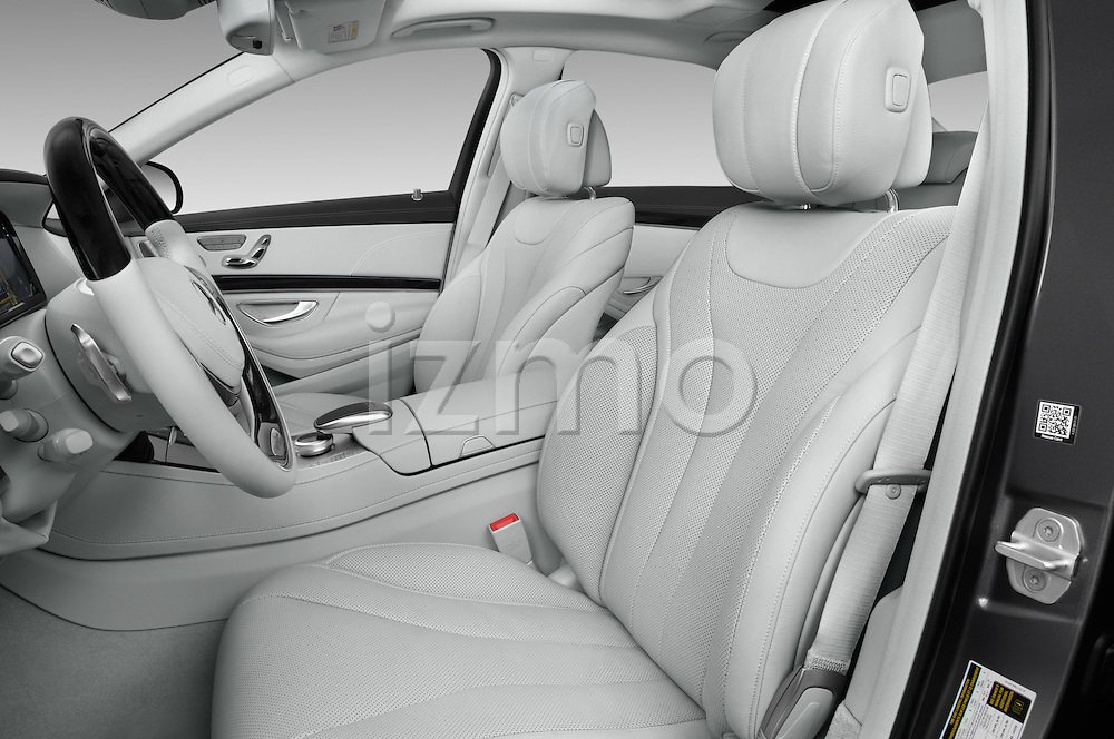 Front seat view of 2017 Mercedes Benz S-Class S550-PLUG-IN-HYBRID 4 Door Sedan Front Seat  car photos