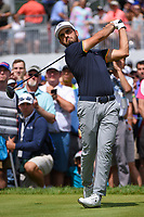Abraham Ancer (MEX) watches his tee shot on 9 during Rd4 of the 2019 BMW Championship, Medinah Golf Club, Chicago, Illinois, USA. 8/18/2019.<br /> Picture Ken Murray / Golffile.ie<br /> <br /> All photo usage must carry mandatory copyright credit (© Golffile | Ken Murray)