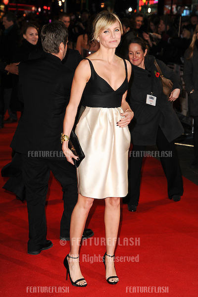 Cameron Diaz arriving for the World Premiere of Gambit, at the Empire Leicester Square, London. 07/11/2012 Picture by: Steve Vas / Featureflash