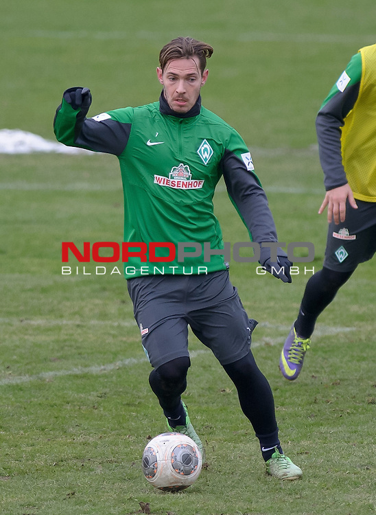 04.02.2014, Trainingsgelaende, Bremen, GER, 1.FBL, Training Werder Bremen, im Bild Ludovic Obraniak (Bremen #7)<br /> <br /> Foto &copy; nordphoto / Frisch