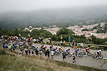 The main GC contenders climb Prat d'Albis during Stage 15 of the 2019 Tour de France running 185km from Limoux to Foix Prat d'Albis, France. 20th July 2019.<br /> Picture: ASO/Pauline Ballet | Cyclefile<br /> All photos usage must carry mandatory copyright credit (© Cyclefile | ASO/Pauline Ballet)