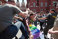 Moscow Gay Parade Broken Up