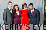 Darren Sweeney, Zoe O'Carroll, Katelyn McCarthy, Conor Brick at the Mercy Mounthawk Students' Debs Ball in the Ballyroe Heights Hotel on Saturday night.