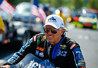 Jun 11, 2017; Englishtown , NJ, USA; NHRA funny car driver John Force during the Summernationals at Old Bridge Township Raceway Park. Mandatory Credit: Mark J. Rebilas-USA TODAY Sports