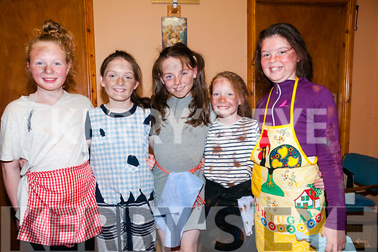 "Ballyduff Junior Lip Synch: Taking part in the Ballyduff Junior Lip Synch Competition at the Ballyduff Community Centre on Sunday night last and performing ""It's a Hard Knot Life"" from the musical ""Annie"" were Aoibhe Frizell, EabhaaO'Connor, Lauren Murphy, Emma Cronin & Laura Dineen."