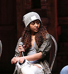 "Sasha Hollinger during the  #EduHam matinee performance Q & A for ""Hamilton"" at the Richard Rodgers Theatre on 3/28/2018 in New York City."