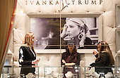 Lara Yunaska, L, Eric Trump's wife, in the Ivanka Trump boutique at Trump Tower on January 17, 2017 in New York City. U.S. President Elect Donald Trump is still holding meetings upstairs at Trump Tower just 3 days before the inauguration.      <br /> Credit: Bryan R. Smith / Pool via CNP