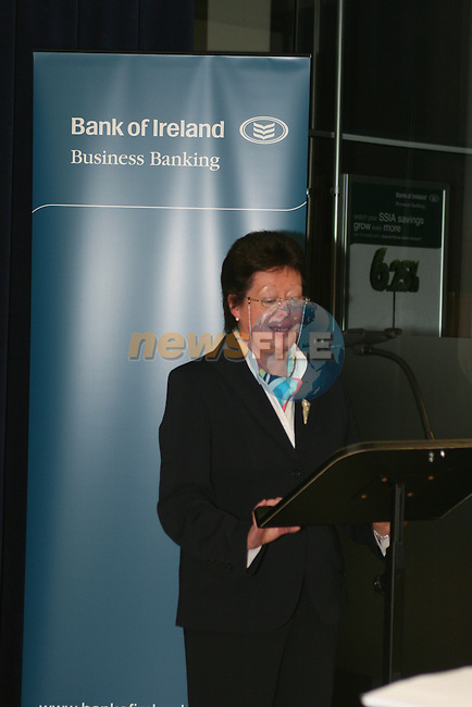 Mary Considine, Branch Manager at the Launch of the New Bank Of Ireland, Laurence St, Drogheda....Photo NEWSFILE/Jenny Matthews.(Photo credit should read Jenny Matthews/NEWSFILE)....This Picture has been sent you under the condtions enclosed by:.Newsfile Ltd..The Studio,.Millmount Abbey,.Drogheda,.Co Meath..Ireland..Tel: +353(0)41-9871240.Fax: +353(0)41-9871260.GSM: +353(0)86-2500958.email: pictures@newsfile.ie.www.newsfile.ie.FTP: 193.120.102.198
