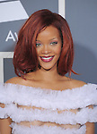 Rihanna attends The 53rd Annual GRAMMY Awards held at The Staples Center in Los Angeles, California on February 13,2011                                                                               © 2010 DVS / Hollywood Press Agency