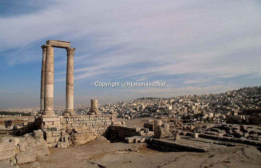 Jordan, the Citadel overlooking Amman&#xA;<br />