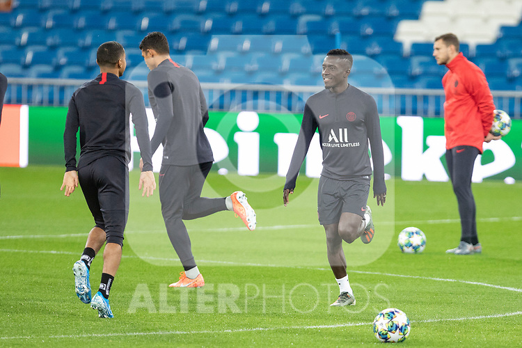 PSG's Players Idrissa Gueye during training session. <br /> November 25 ,2019.<br /> (ALTERPHOTOS/David Jar)