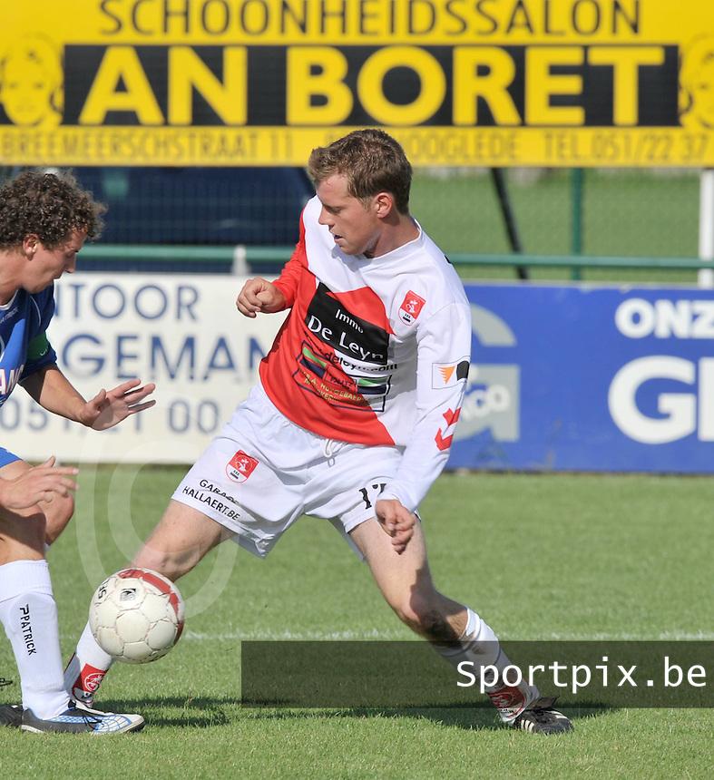SVV Damme : Jeroen Lauwers.foto VDB / BART VANDENBROUCKE