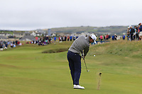 Bernd Wiesberger (AUT) plays his 2nd shot on the 17th hole during Saturday's Round 3 of the Dubai Duty Free Irish Open 2019, held at Lahinch Golf Club, Lahinch, Ireland. 6th July 2019.<br /> Picture: Eoin Clarke | Golffile<br /> <br /> <br /> All photos usage must carry mandatory copyright credit (© Golffile | Eoin Clarke)