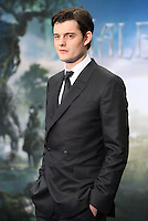 Sam Riley arriving for the Maleficent Private Costume Reception, at Kensington Palace, London. 08/05/2014 Picture by: Alexandra Glen / Featureflash
