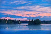 Sunset on Klotz Lake<br /> Longlac<br /> Ontario<br /> Canada
