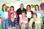 Receiving certificates for graduating from the Kerry Education Computer course in Ballyspillane on Thursday was front row l-r: Elaine Clifford, Mary Concannon KES Education Officer, . Back row: Sinead Harrington, Patricia Campion, Patrick O'Sullivan, Norma Costello and Natasha O'Donoghue   Copyright Kerry's Eye 2008