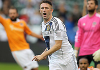 CARSON, CA - DECEMBER 01, 2012:   Robbie Keane (7) of the Los Angeles Galaxy has his goal disallowed against the Houston Dynamo during the 2012 MLS Cup at the Home Depot Center, in Carson, California on December 01, 2012. The Galaxy won 3-1.