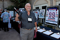 June 27, 2009:  Tom Plant of www.wineormous.com at the 'Rhythm on the Vine' charity event to benefit Shriners Children Hospital held at  the South Coast Winery Resort & Spa in Temecula, California..Photo by Nina Prommer/Milestone Photo