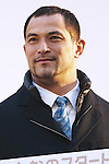 Koji Murofushi, JANUARY 12, 2015 : <br /> The Tokyo Organising Committee of the Olympic and Paralympic Games (TOCOG) countdown event &quot;Everyone's Start! 2020 days to Tokyo 2020&quot; at Tokyo Metropolitan Government, Tokyo, Japan. (Photo by AFLO SPORT)
