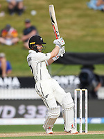 2nd December, Hamilton, New Zealand; New Zealand captain Kane Williamson batting pulls for runs on day 4 of the 2nd test cricket match between New Zealand and England  at Seddon Park, Hamilton, New Zealand.