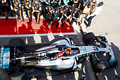 June 11th 2017, Circuit Gilles Villeneuve, Montreal Quebec, Canada; Formula One Grand Prix, Race Day. #44 Lewis Hamilton (GBR, Mercedes AMG Petronas F1 Team) in parc feme as the winner