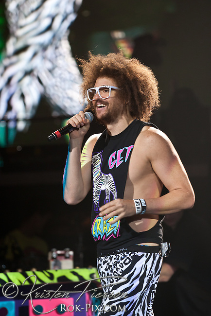 LMFAO at Mohegan Sun Arena, Uncasville, CT, June 28, 2012.