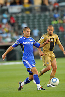 Graham Zusi...Kansas City Wizards defeated Philadelphia Union 2-0, at Community America Ballpark, Kansas City, Kansas.