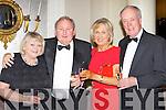 Ann, Matt McGuire, Ann and Seamus O'Brien enjoying the New Years Eve ball in the Malton Hotel Killarney on Friday night