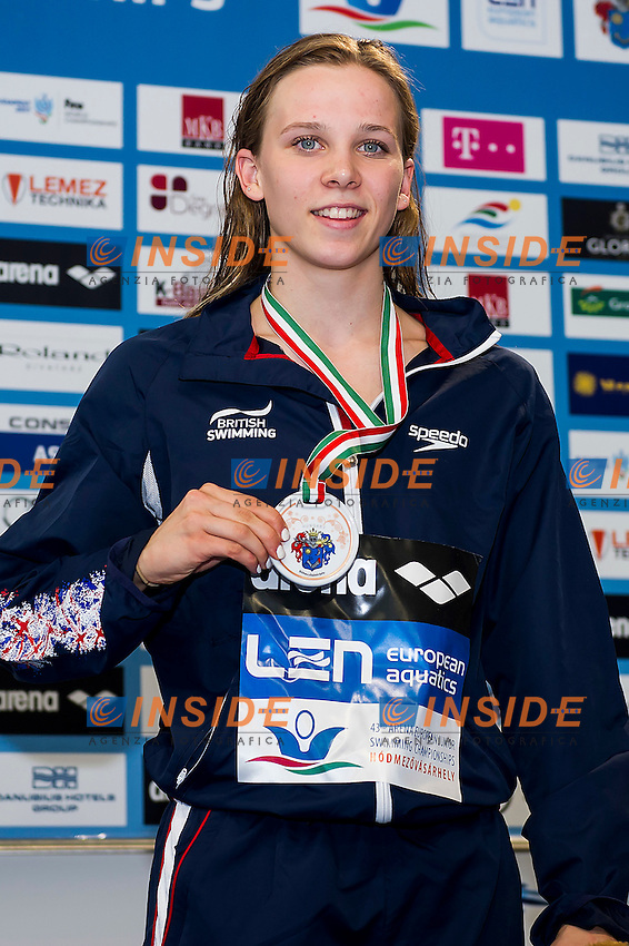 Maine Anna GBR<br /> 100 Backstroke Women Final Bronze Medal<br /> LEN 43rd Arena European Junior Swimming Championships<br /> Hodmezovasarhely, Hungary <br /> Day05 10-07-2016<br /> Photo Andrea Masini/Deepbluemedia/Insidefoto