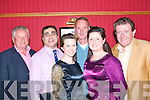 """2277-2281.---------.Charity Support.---------------.Attending the opening night on June 10th last of """"the Deeper Well experience"""" a show of song,story and dance,which will run every Wednesday&Thursday for June,July,Augest and September in the Meadowlands Hotel Oakpark Tralee in aid of Friends of Kerry General Hospital and Palative care unit were Front L-R Siobhan&Karen Joy(Back)L-R Seanie Lynch,Namir Karim,Maurice Lynch and Dee Foran.."""