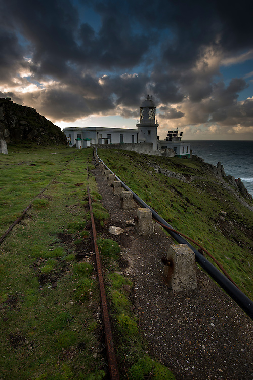 North Light on Lundy Island, Bristol Channel