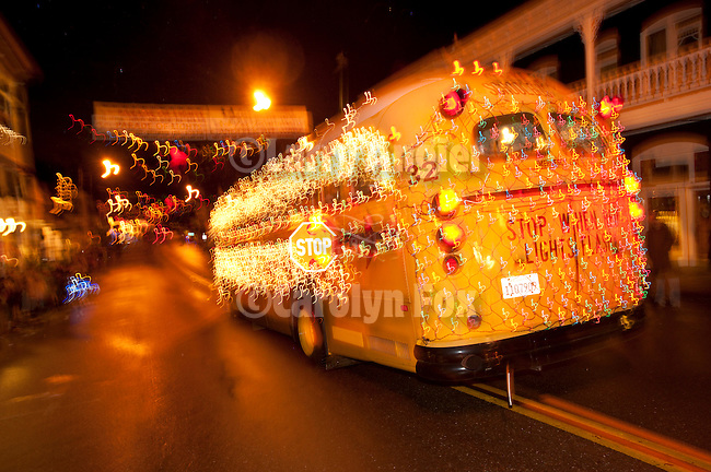 Christmas parade angier fox celebrating rural america
