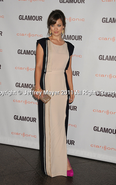 LOS ANGELES, CA - OCTOBER 24: Olivia Wilde attends the Glamour Reel Moments at DGA Theater on October 24, 2011 in Los Angeles, California.