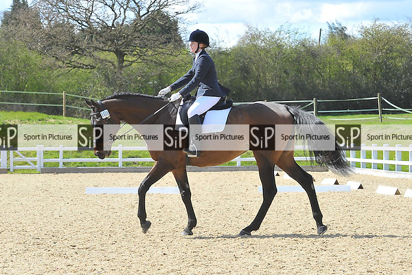 Class 3. Prelim 7. Brook Farm Summer Championships Qualifier,  Brook Farm points league and Trailblazers 1st round dressage. Brook Farm Training Centre. Essex. 11/04/2015. MANDATORY Credit Ellie Ingram/Sportinpictures - NO UNAUTHORISED USE - 07837 394578