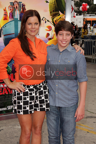 Marcia Gay Harden, Ryan Lee<br />