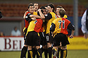29/01/2005  Copyright Pic : James Stewart.File Name : jspa09_partick v raith.STEPHEN MCCONALOGUE IS CONGRATULATED AFTER HE SCORES PARTICK'S THIRD.......Payments to :.James Stewart Photo Agency 19 Carronlea Drive, Falkirk. FK2 8DN      Vat Reg No. 607 6932 25.Office     : +44 (0)1324 570906     .Mobile   : +44 (0)7721 416997.Fax         : +44 (0)1324 570906.E-mail  :  jim@jspa.co.uk.If you require further information then contact Jim Stewart on any of the numbers above.........A