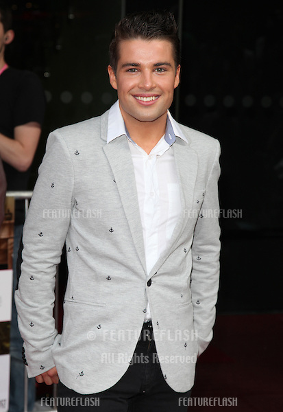 Joe McElderry arriving for the UK Premiere of 'What To Expect When You're Expecting' at the Imax Cinema, London. 22/05/2012 Picture by: Alexandra Glen / Featureflash