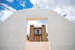 San Geronimo Catholic Church at Taos Pueblo in Taos, New Mexico.