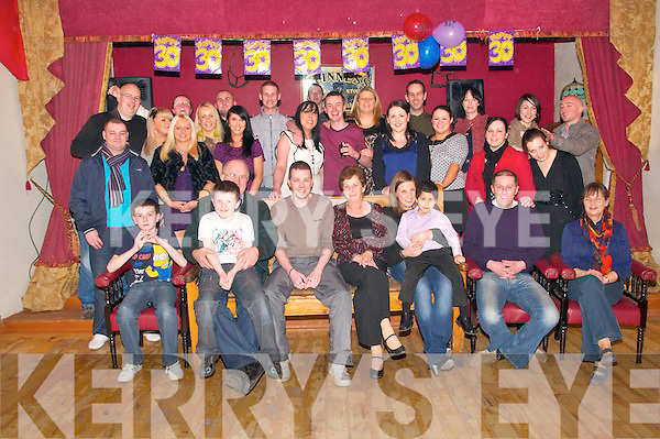 30th Birthday: Brendan O'Keeffe, Ballybeg, Ballymacelligott celebrating his 30th birthday with family & friends at Herbert's Bar Kilflynn on Friday night last.