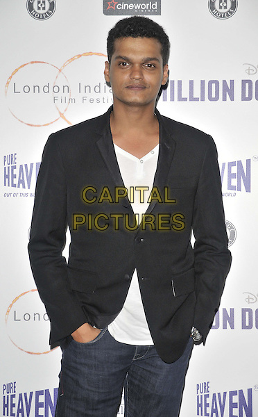 LONDON, ENGLAND - JULY 14: Madhur Mittal attends the London Indian Film Festival 'Million Dollar Arm' UK film premiere, Cineworld Shaftesbury Avenue cinema, Coventry St., on Monday July 14, 2014 in London, England, UK. <br /> CAP/CAN<br /> &copy;Can Nguyen/Capital Pictures