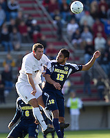 On November 28, 2010 the University of South Carolina plays Michigan in round three of the NCAA Men's Division I Soccer Championship at Stone Stadium in Columbia, SC.  Michigan won 3-1 to advance to the next round.
