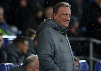 Cardiff City Manager Neil Warnock prior to kick off of the Sky Bet Championship match between Cardiff City and Preston North End at Cardiff City Stadium, Wales, UK. Tuesday 31 January 2017