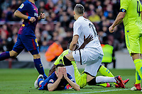 2018.02.11 La Liga FC Barcelona VS Getafe CF