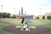 TEMPORARY UNEDITED FILE:  Image may appear lighter/darker than final edit - all images cropped to best fit print size.  <br /> <br /> Under Armour All-American Game presented by Baseball Factory on July 19, 2018 at Les Miller Field at Curtis Granderson Stadium in Chicago, Illinois.  (Mike Janes/Four Seam Images)